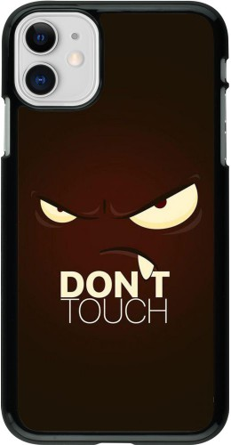 Coque iPhone 11 - Angry Dont Touch