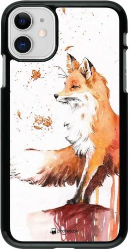 Coque iPhone 11 - Autumn 21 Fox