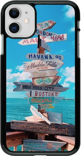 Coque iPhone 11 - Cool Cities Directions