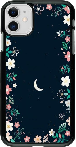 Coque iPhone 11 - Flowers space