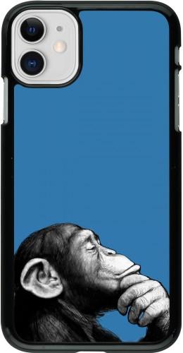 Coque iPhone 11 - Monkey Pop Art