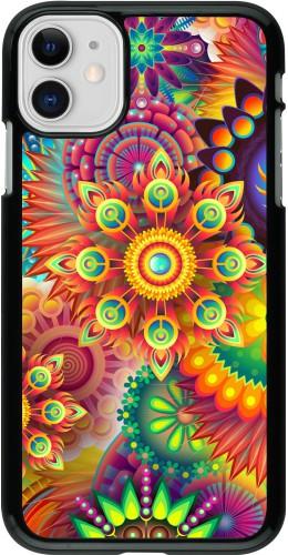 Coque iPhone 11 - Multicolor aztec