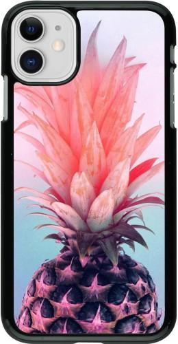 Coque iPhone 11 - Purple Pink Pineapple