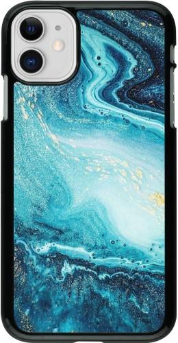Coque iPhone 11 - Sea Foam Blue