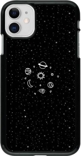 Coque iPhone 11 - Space Doodle