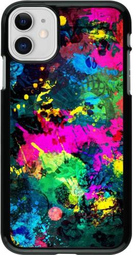 Coque iPhone 11 - splash paint