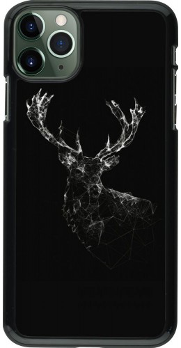 Coque iPhone 11 Pro Max - Abstract deer