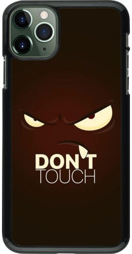 Coque iPhone 11 Pro Max - Angry Dont Touch