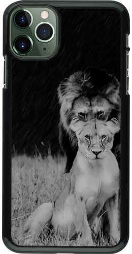 Coque iPhone 11 Pro Max - Angry lions