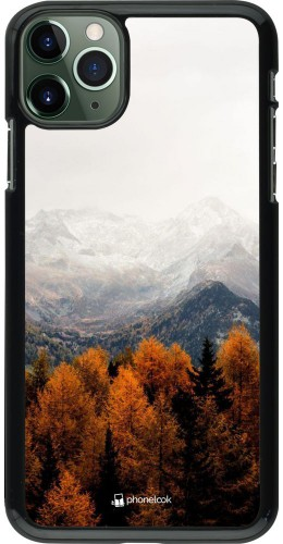 Coque iPhone 11 Pro Max - Autumn 21 Forest Mountain