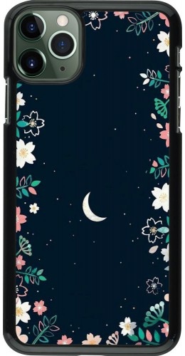 Coque iPhone 11 Pro Max - Flowers space