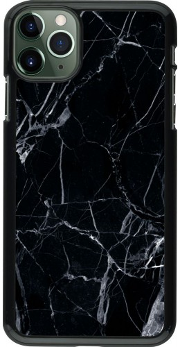 Coque iPhone 11 Pro Max - Marble Black 01