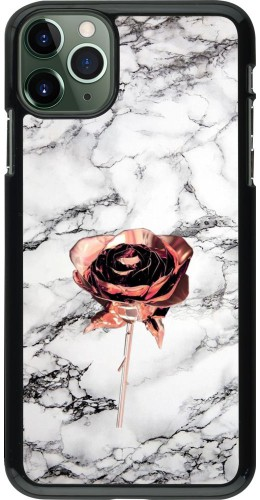 Coque iPhone 11 Pro Max - Marble Rose Gold