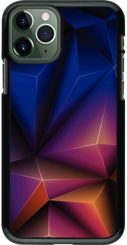 Coque iPhone 11 Pro - Abstract Triangles