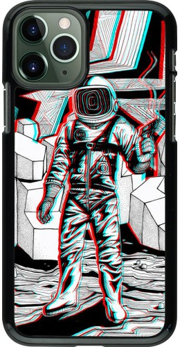 Coque iPhone 11 Pro - Anaglyph Astronaut