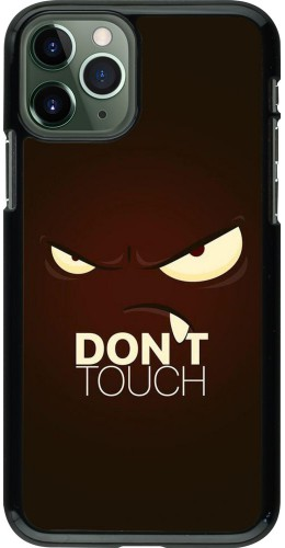 Coque iPhone 11 Pro - Angry Dont Touch