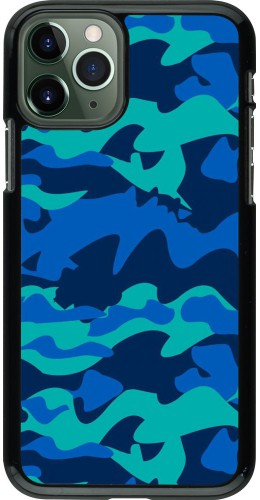 Coque iPhone 11 Pro - Camo Blue