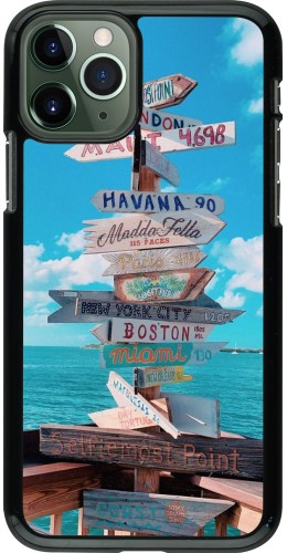 Coque iPhone 11 Pro - Cool Cities Directions