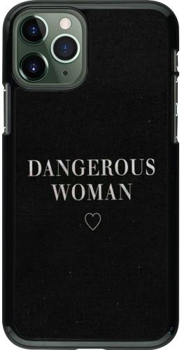Coque iPhone 11 Pro - Dangerous woman