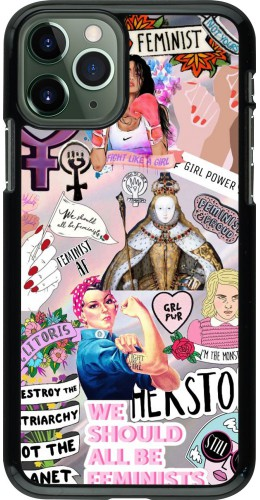 Coque iPhone 11 Pro - Girl Power Collage