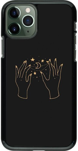 Coque iPhone 11 Pro - Grey magic hands