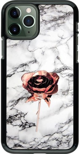 Coque iPhone 11 Pro - Marble Rose Gold