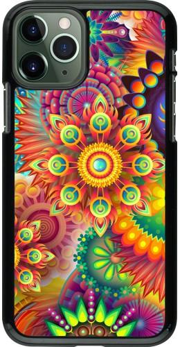 Coque iPhone 11 Pro - Multicolor aztec