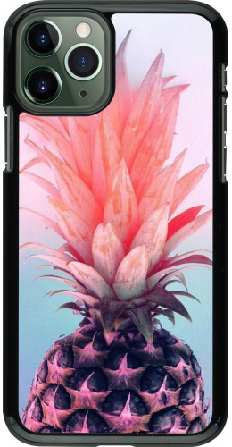 Coque iPhone 11 Pro - Purple Pink Pineapple