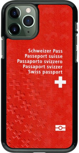 Coque iPhone 11 Pro - Swiss Passport