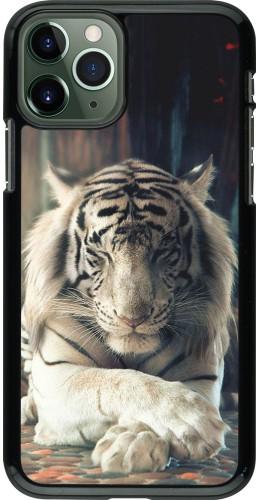 Coque iPhone 11 Pro - Zen Tiger