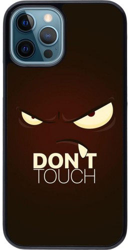 Coque iPhone 12 / 12 Pro - Angry Dont Touch