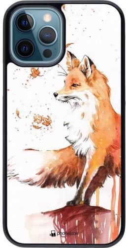 Coque iPhone 12 / 12 Pro - Autumn 21 Fox