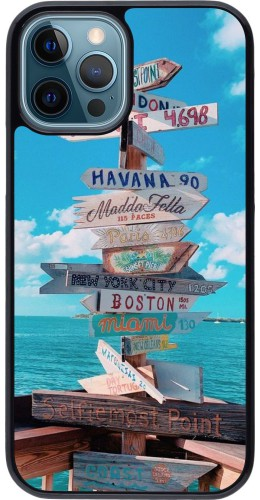 Coque iPhone 12 / 12 Pro - Cool Cities Directions