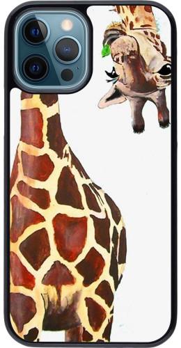 Coque iPhone 12 / 12 Pro - Giraffe Fit