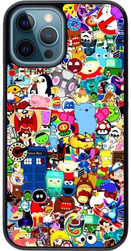 Coque iPhone 12 / 12 Pro - Mixed cartoons