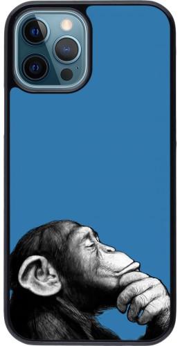 Coque iPhone 12 / 12 Pro - Monkey Pop Art