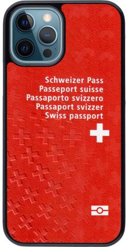 Coque iPhone 12 / 12 Pro - Swiss Passport
