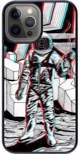 Coque iPhone 12 Pro Max - Anaglyph Astronaut