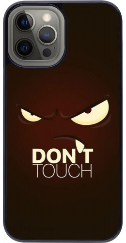 Coque iPhone 12 Pro Max - Angry Dont Touch