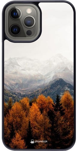 Coque iPhone 12 Pro Max - Autumn 21 Forest Mountain
