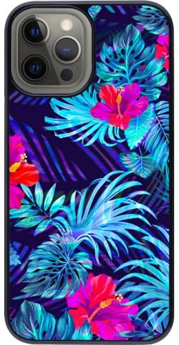 Coque iPhone 12 Pro Max - Blue Forest