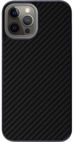 Coque iPhone 12 Pro Max - Carbon Basic