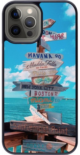 Coque iPhone 12 Pro Max - Cool Cities Directions