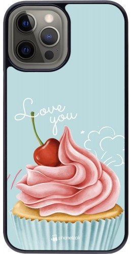 Coque iPhone 12 Pro Max - Cupcake Love You