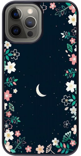 Coque iPhone 12 Pro Max - Flowers space