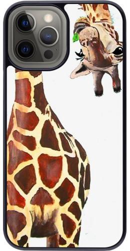 Coque iPhone 12 Pro Max - Giraffe Fit