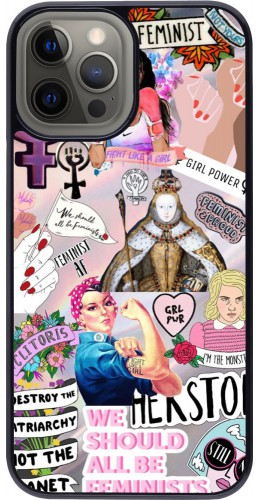 Coque iPhone 12 Pro Max - Girl Power Collage