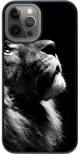 Coque iPhone 12 Pro Max - Lion looking up