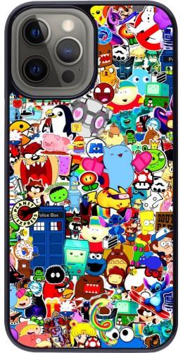 Coque iPhone 12 Pro Max - Mixed cartoons