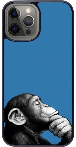 Coque iPhone 12 Pro Max - Monkey Pop Art